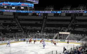 A good look at the SAP Center's seat-color patterns